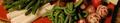 Dip de curry et son plateau de légumes