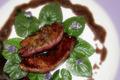 Foie gras poêlé en aigre doux de Violette