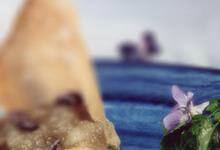 Foie gras poêlé à la Violette