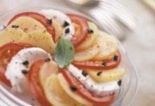 Salade meli-melo de pommes de terre