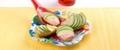 La fantastique tartine de pommes de terre