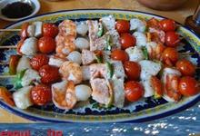 Brochettes de la mer