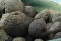 Oeufs pochés aux lentilles vertes d'Issoudun et aux truffes
