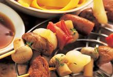 Brochettes d'agneau de Pâques du Limousin