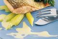 Dos de truite de mer rôtie au Camembert de Normandie