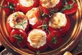 Tomates farcies au Chabichou du Poitou