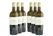 6 bouteilles château la jaubertie mirabelle aoc bergerac sec