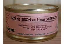 Pate De Bison Au Piment D'espelette