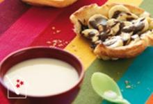 les tartelettes banane chocolat Lucullus Succulus