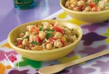 la salade de pois chiches et couscous Lucullus Succulus