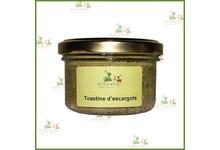 Toastine d'escargots a la Bourguignonne