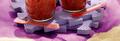 le granité de framboises à la menthe Lucullus Succulus