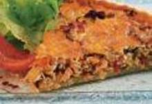 Tarte basquaise au thon, aux légumes et au piment d'Espelette