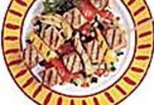Brochette de thon au fenouil