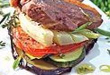 Côtelettes de canard et légumes grillés aux senteurs de Provence