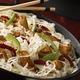 Sauté de volaille et choucroute façon wok