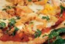 Pizza océane au thon et au saumon