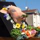 La tête de veau à la fête à Ussel 2010