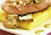 Foie de veau à la polenta