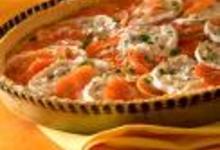 Tarte feuilletée aux tomates et Bresse Bleu
