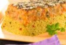 Couscous parfumé aux épices douces et Carottes, façon parmentier à l'indienne
