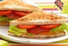 Club sandwich cheddar - bacon
