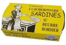 Sardines au Beurre Bordier à poêler