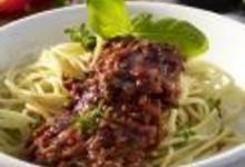 Spaghettis bolognaise à la Kikkoman