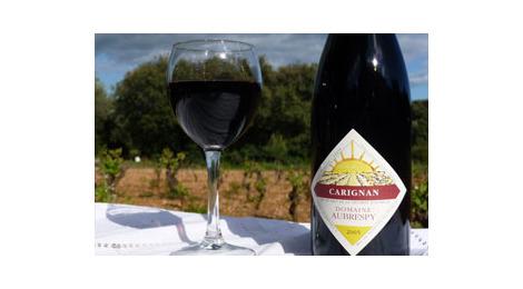 Vin de pays de l'herault rouge - carignan