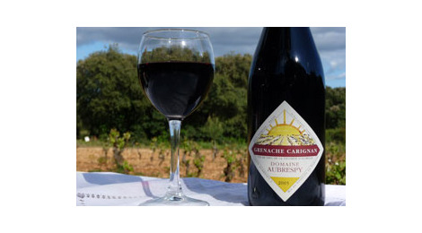 Vin de pays de l'herault rouge - grenache carignan