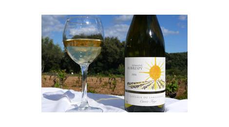 Vin blanc aoc coteaux du languedoc - cuvée faye
