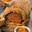 Filet De BŒuf En Chemise Salee, Patates Douces Au Beurre Epice, Chutney De Mangues