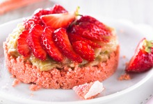 Biscuit Rose Comme Un Crumble