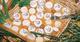 Tartelettes aux pommes reinettes, magret de canard fumé et Pélardon