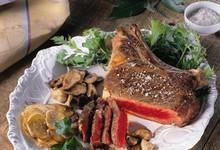 Côte de bœuf poêlée au sel de Guérande