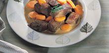 Bœuf braisé aux carottes et cumin