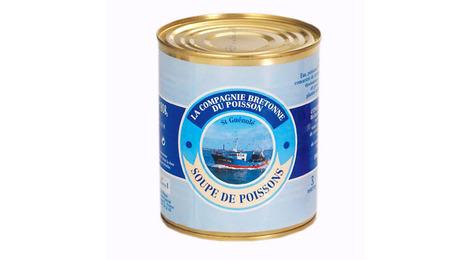 La Soupe de poissons traditionnelle 808g