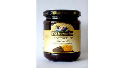 """Crème """"Cioccofruit"""" au chocolat et à l'orange 240 gr"""