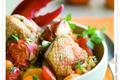 Fricassée de poulet français au homard