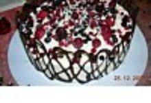 Bavarois fruits rouges /chocolat blanc
