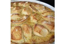 La tarte aux pommes à l'alsacienne