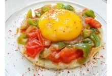 Les œufs basquaise