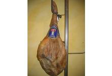 Jambon espagnol Serrano  « Trevelez »  avec os 8,5 kilos