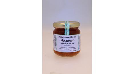 Ecorces confites de Bergamote de la Côte d'Azur