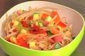 Sauter les légumes au wok
