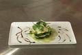 Marinade d'artichauts et d'aubergines à l'huile d'olive et citron vert