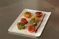 Mini-poivrons froids farçis aux piquillos