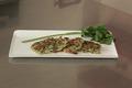 Rösti de pommes de terre au saumon fumé et aux herbes