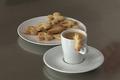 Biscuits à la cannelle pour le café
