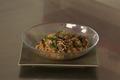 Wok de boeuf au paprika, riz aux poivrons rouges